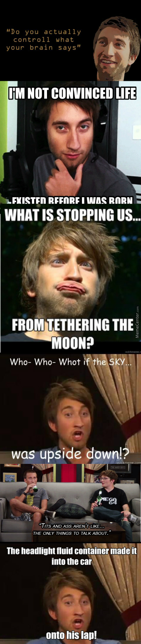 Gavin Free Dumb Quotes Compilation