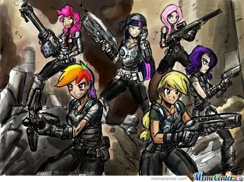 Gears Of Pony. I Can Fap To This
