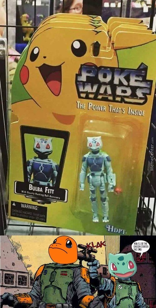 Gee Wiz, Pikachu Is My Favorite Star Wars Character!