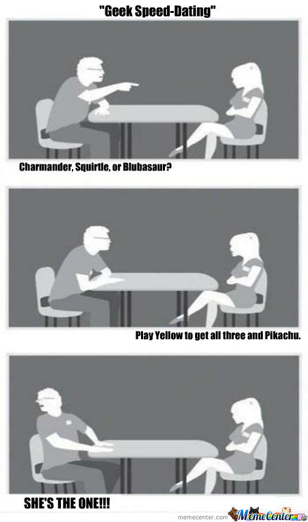 Geek Speed-Dating