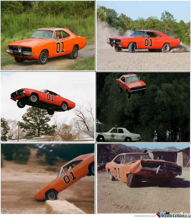General Lee Accident