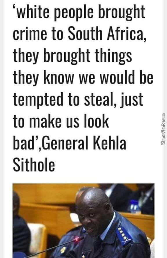 General Shithole Could Be Onto Something Here...