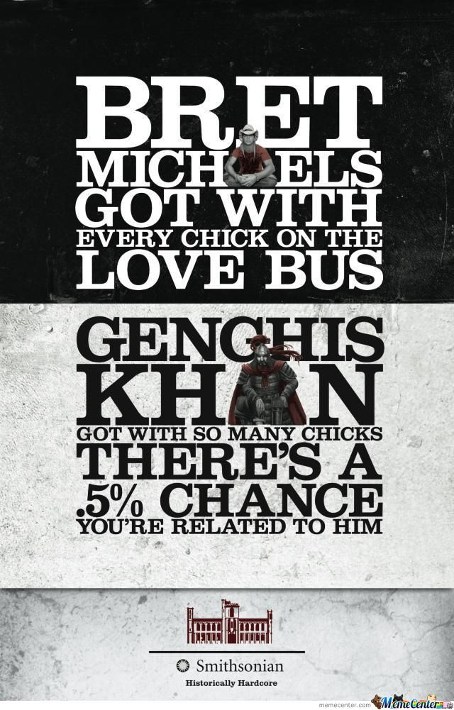 Genghis Khan: The Ultimate Playa'