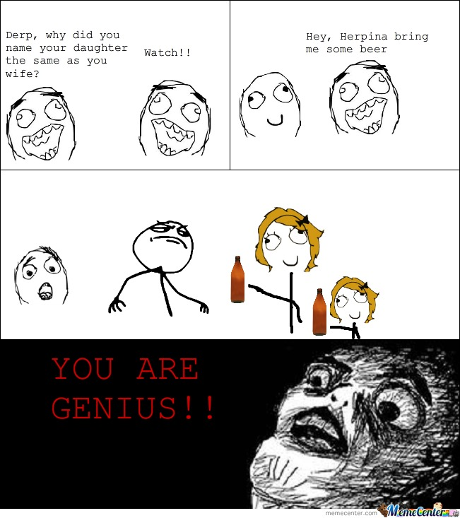 Genius Man Is Genius
