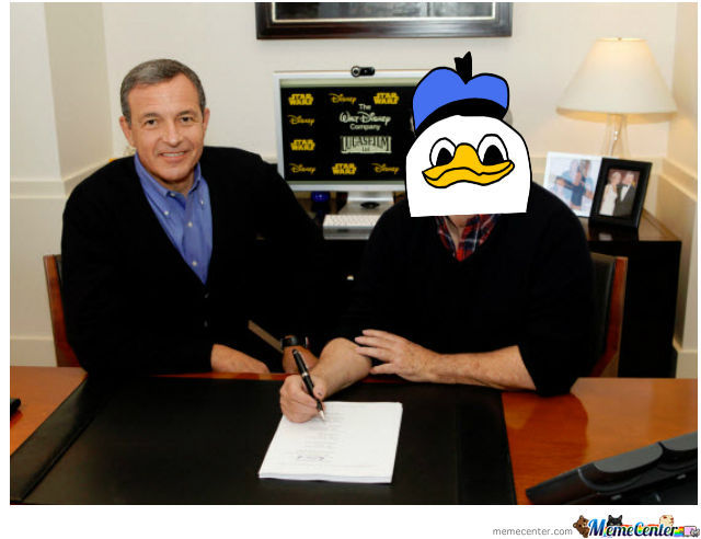 George Lucas..... ...........  Actually Is Dolan