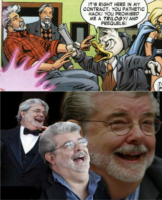 George Lucas The Pathetic Hack