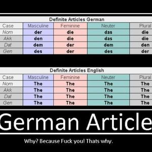 German Articles. by kozhen - Meme Center