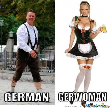 German-Gerwoman