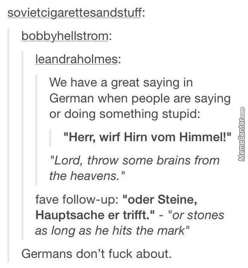 German Is A Beautiful Language