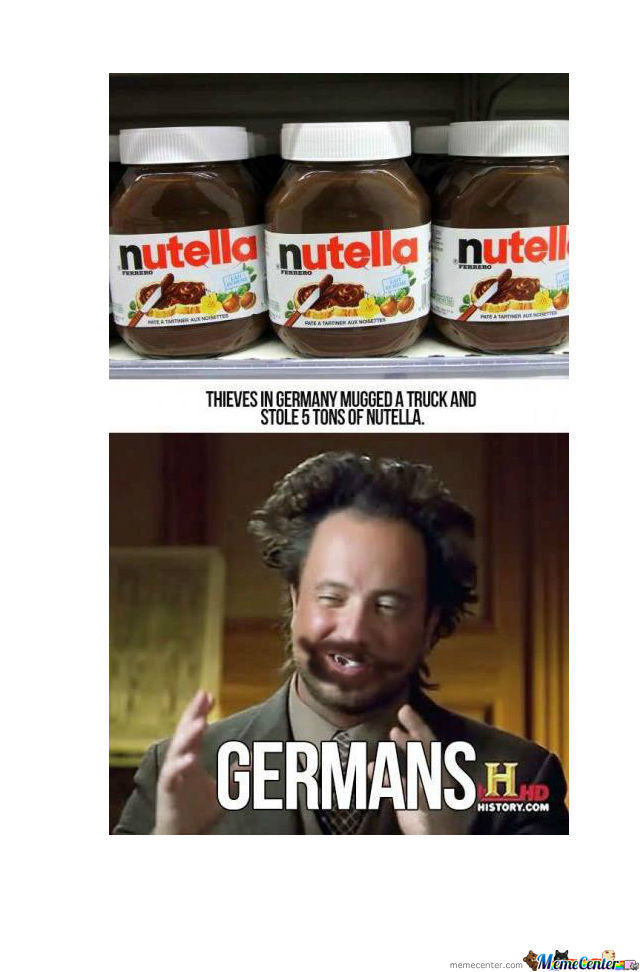 Germans And Nutella