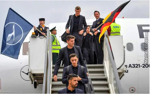 Germany Finally Reached Moscow, 73 Years Later....