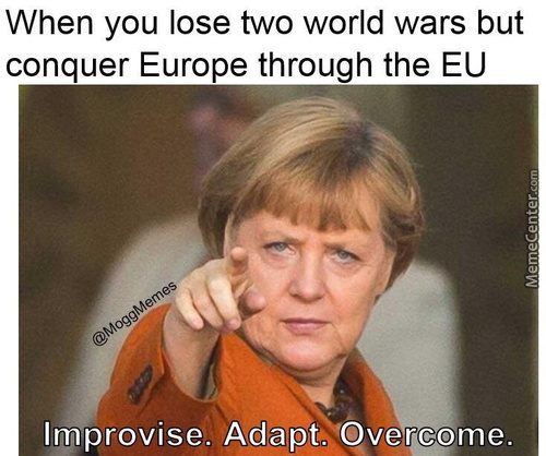Germany, Fucking Up Europe For Over 100 Years.