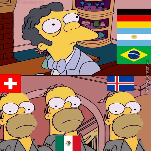 Germany Lost Against Mexico, Argentina Draw Vs Iceland, Brazil Draw Vs Switzerland