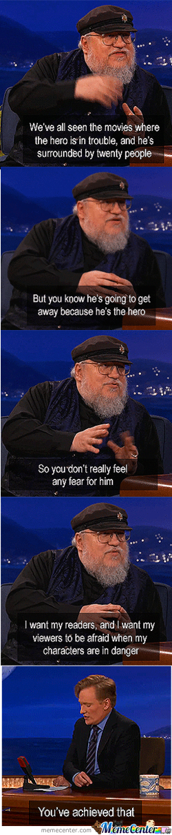 Geroge Rr Martin On Conan