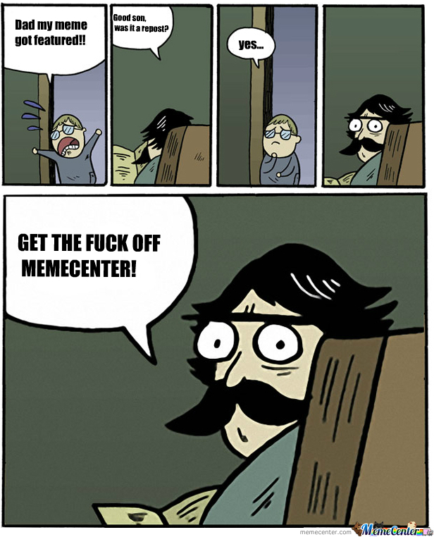 Get Off Memecenter!