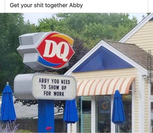 Get Your Sh*T Together Abby!