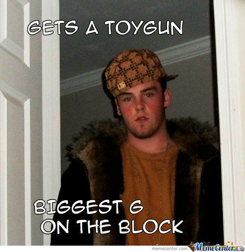 Gets A Toy Gun Biggest G On The Block