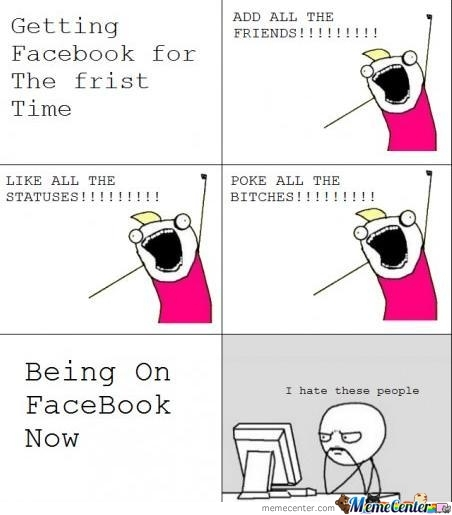 Gettin Facebook For The First Time