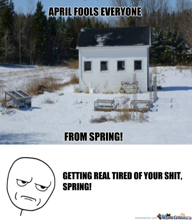 Getting Real Tired Of Your Sh*t Spring!