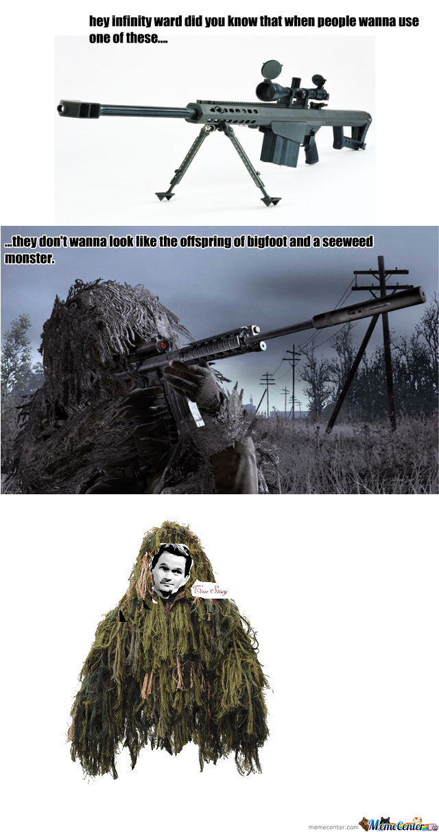 Ghillie Suits.... by recyclebin