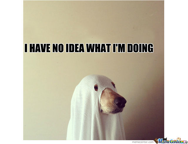 Ghost Costume ? No Idea What Iu0026#39;m Doing by cakeaufruits - Meme Center