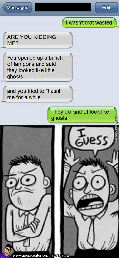 Ghost Tampons