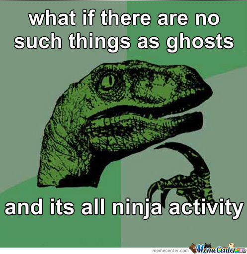 Ghosts Or Ninja