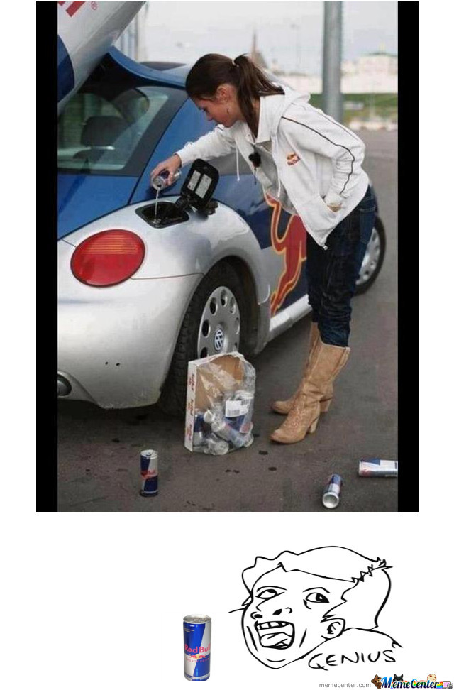Girl With A Car by recyclebin - Meme Center