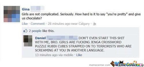Girls Not Complicated...sure