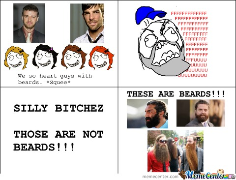 Girls Who Say They Like Beards