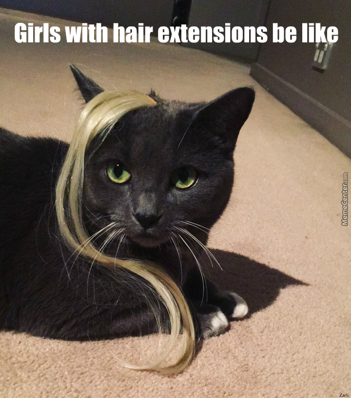 Girls with hair extensions by laizakas meme center girls with hair extensions pmusecretfo Image collections