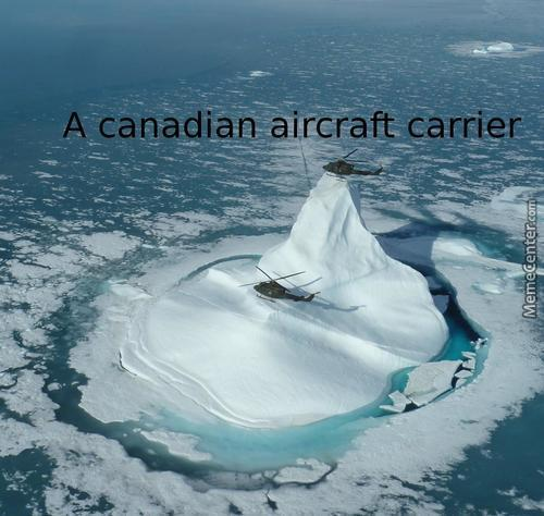 Global Warming And The Canadian Forces Are At Odds These Days.