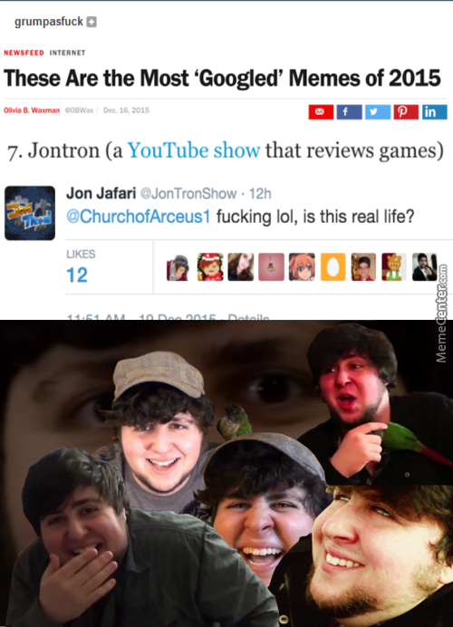Glorious Jontron Master Race