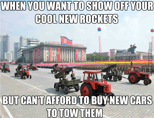 Glorious Tractors Of The Dprk Will Plow The Fields Of Victory!