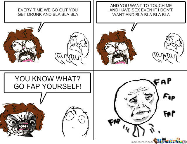 Go And Fap Yourself!