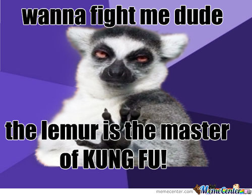 Go And Fight The Lemur!