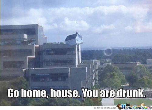 Go Home, House. You Are Drunk.
