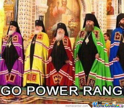 Go Home Power Rangers .. Your Drunk