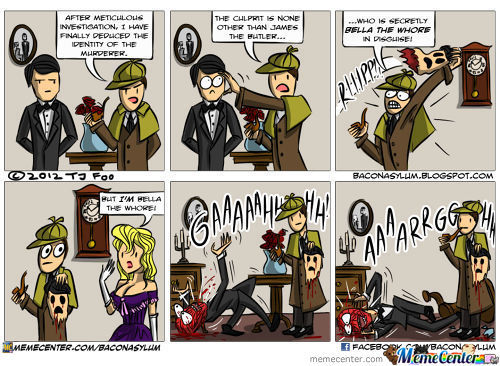 Go Home Sherlock, You're Drunk