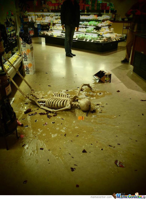 Go Home Skeleton,you Are Drunk