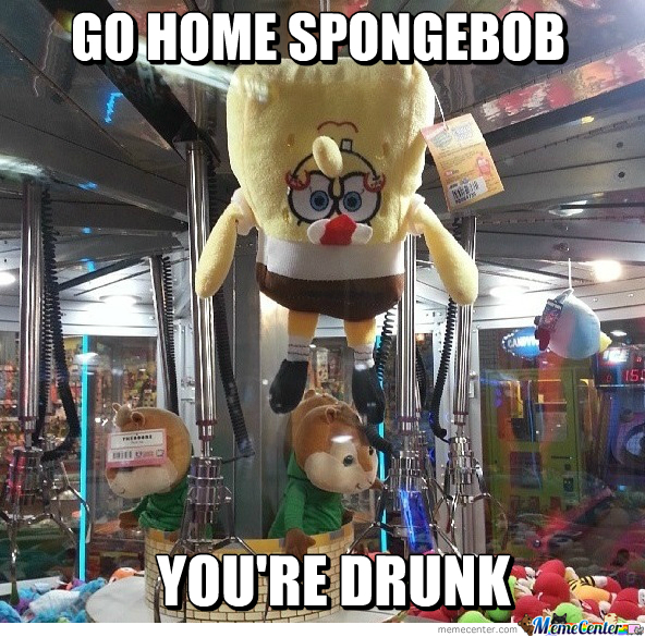 Go Home Spongebob
