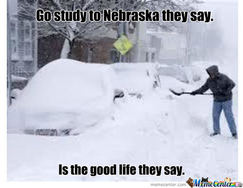 Go Study To Nebraska They Say