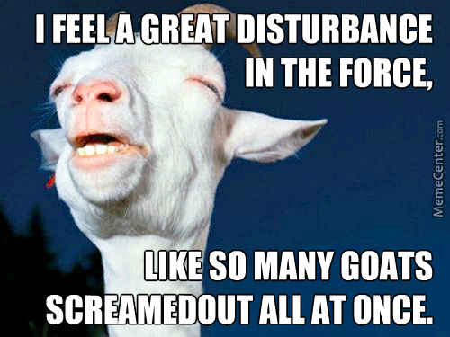 Goats Be Screaming
