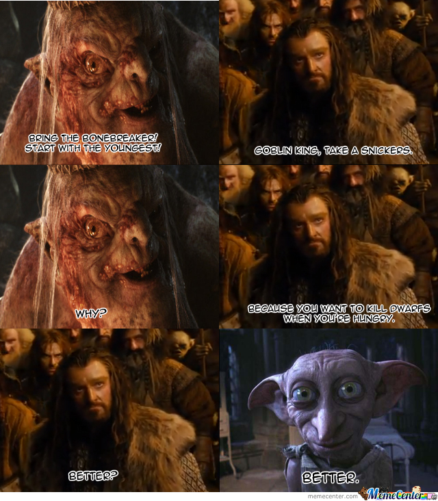 Goblin King, Take A Snickers