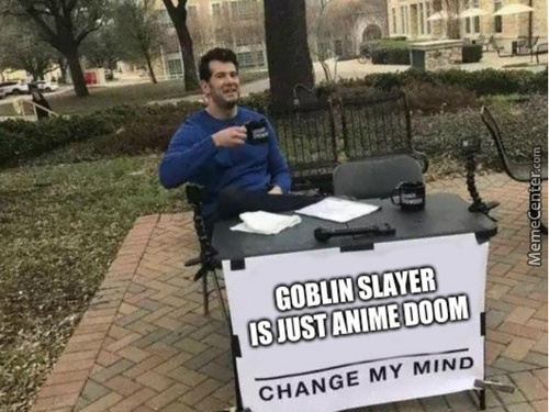 Goblin Slayer Is Just Anime Doom