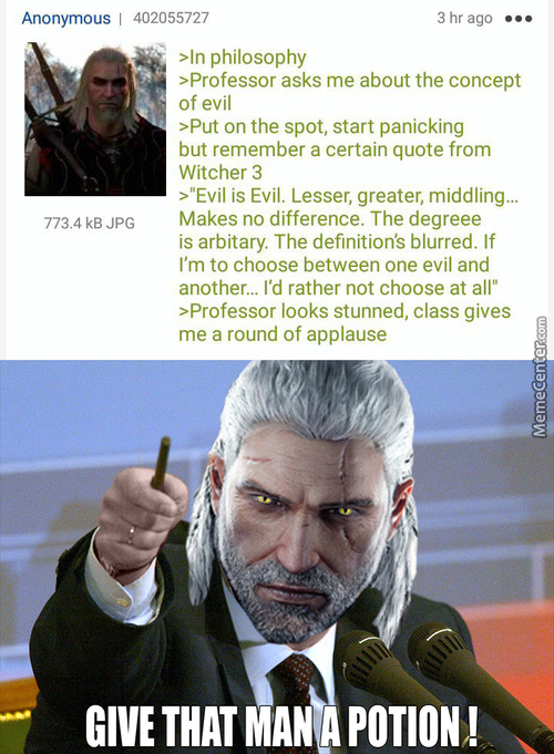 God Bless The Witcher Series
