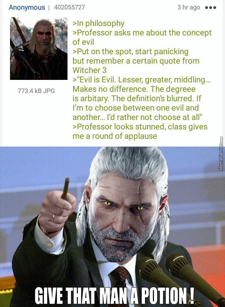 God Bless The Witcher Series By Doulla Meme Center