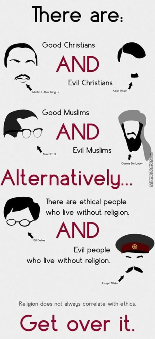 God Has No Religion. So Get Over It.