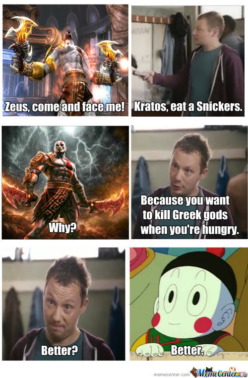 God Of Snickers
