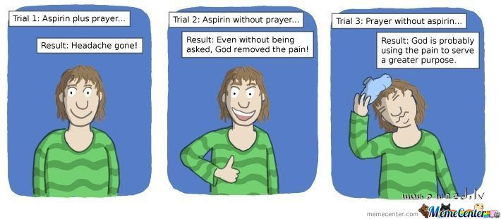 God Probably Doesn't Want You To Take Medicine Anyway... You Should Stop.